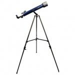Телескоп Levenhuk Strike 60 NG рефрактор, 2 окуляра, ручное управление, для начинающих