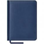 Ежедневник недатированный Office Space Vivella синий, А6, 160 листов, искусственная кожа