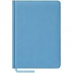 Ежедневник недатированный Office Space Vivella голубой, А5, 160 листов, искусственная кожа