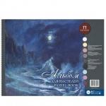 Альбом для пастели Palazzo Aquamarine, А2, 160г/м2, 54 листа, на спирали
