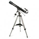 Телескоп Levenhuk Skyline 90х900 EQ рефлектор, 2 окуляра, ручное управление, для начинающих