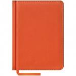 Ежедневник недатированный Office Space Vivella оранжевый, А6, 160 листов, искусственная кожа