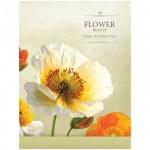 Тетрадь на кольцах Office Space Flowers, А5, 120 листов, в клетку, ламинированный картон