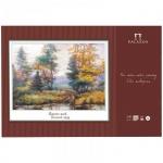Папка для акварели Palazzo Осенний пруд А2, 200г/м2, 20 листов