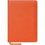 Ежедневник недатированный Office Space Vivella оранжевый, А5, 160 листов, искусственная кожа