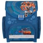 Ранец для мальчиков Tiger Family Робот, синий, пластиковые ножки