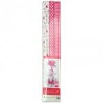Бумага крепированная Werola бело-розовая, 50х200см, набор 3 рулона, 35 г/м2, растяжение 35%