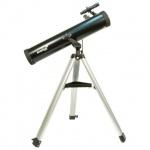 Телескоп Levenhuk Skyline 76x700 AZ рефлектор, 2 окуляра, ручное управление, для начинающих