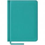 Ежедневник недатированный Office Space Vivella бирюзовый, А6, 160 листов, искусственная кожа