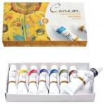 Краска масляная художественная Невская Палитра Сонет 8 цветов по 10мл