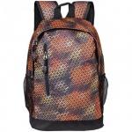 Рюкзак универсальный Office Space Matrix, коричневый, с отражателем