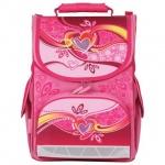 Ранец для девочек Tiger Family Сердечки, розовый