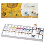 Краска масляная художественная Невская Палитра Сонет, 12 цветов