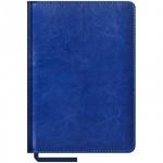 Ежедневник недатированный Office Space Sarif синий, А5, 160 листов, искусственная кожа