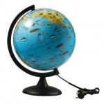 Глобус тематический Глобусный Мир 25см, Зоогеографический, с подсветкой