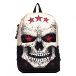 Рюкзак универсальный Mojo Comrade Череп, черно-белый, KAA9984514