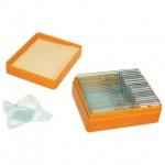 Набор готовых микропрепаратов Levenhuk N20 NG 20 образцов, стекла
