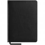 Ежедневник недатированный Office Space Caprice черный, А5, 160 листов, искусственная кожа
