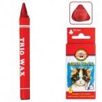 Набор восковых карандашей Koh-I-Noor Trio Wax 6 цветов, трехгранные, 8271/6