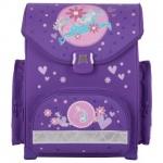 Ранец для девочек Tiger Family Лошадка, фиолетовый, пластиковые ножки