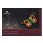 Папка для пастели Palazzo Бабочка A3, 200г/м2, 20 листов, тонированная, 4 цвета