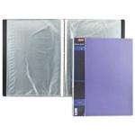 Папка файловая Hatber Wood фиолетовая, A4, на 40 файлов