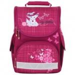 Ранец для девочек Tiger Family Кошка в шляпе, розовый