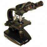 Микроскоп Levenhuk 625 40-2000 крат, бинокулярный, 3 объектива, лабораторный