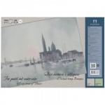 Папка для акварели и пастели Palazzo Соленый ветер Венеции А4, 200 г/м2, 20 листов, тонированная, 2