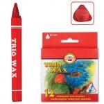 Набор восковых карандашей Koh-I-Noor Trio Wax 12 цветов, трехгранные, 8272/12