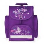 Ранец для девочек Tiger Family Бабочки, фиолетовый