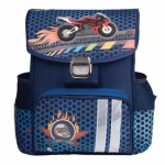 Ранец для мальчиков Brauberg Райдер, синий