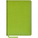 Ежедневник недатированный Office Space Sarif салатовый, А5, 160 листов, искусственная кожа