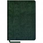 Ежедневник недатированный Office Space Sarif зеленый, А5, 160 листов, искусственная кожа