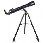 Телескоп Levenhuk Strike 80 NG рефрактор, 2 окуляра, ручное управление, для начинающих