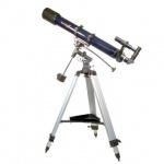 Телескоп Levenhuk Strike 900 PRO рефрактор, 3 окуляра, ручное управление, полупрофессиональный