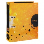 Папка-регистратор А4 Hatber HD iFresh апельсин, 50мм