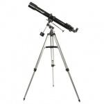 Телескоп Levenhuk Skyline 70х900 EQ рефрактор, 2 окуляра, ручное управление, для начинающих