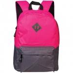 Рюкзак универсальный Office Space Casual, розово-серый, с отражателем