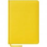 Ежедневник недатированный Office Space Vivella желтый, А5, 160 листов, искусственная кожа