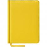 Ежедневник недатированный Office Space Vivella желтый, А6, 160 листов, искусственная кожа