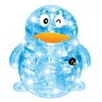 Пазл 3D Crystal Puzzle Пингвин, 63 элемента, светильник