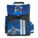 Ранец для мальчиков Brauberg Робот, черно-синий