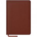 Ежедневник недатированный Office Space Vivella коричневый, А5, 160л, кожзам, En5k_8846