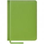 Ежедневник недатированный Office Space Vivella салатовый, А6, 160 листов, искусственная кожа