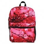 Рюкзак универсальный Mojo Cherry Blossom Цветы, розово-черный, KZ9983496