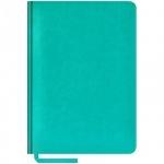 Ежедневник недатированный Office Space Sarif бирюзовый, А5, 160 листов, искусственная кожа