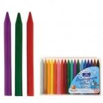 Набор восковых карандашей Луч Престиж 16 цветов + 2 цв. металлик
