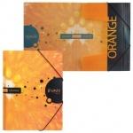 Пластиковая папка на резинке Hatber HD iFresh апельсин, А4, до 300 листов