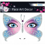 Наклейки для лица Herma Face Art Butterfly, 12х12.7см